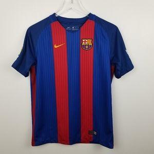 Nike FC Barcelona Messi #10 Home Soccer Jersey